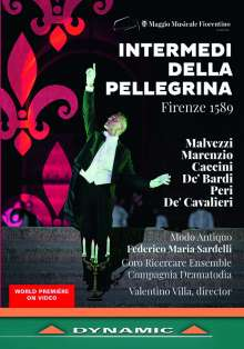 Intermedi della Pellegrina Firenze 1589 - An Itinerant Show in the Boboli Gardens, 2 DVDs