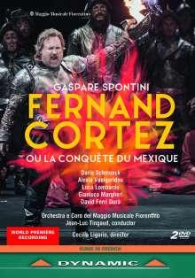 Gaspare Spontini (1774-1851): Fernando Cortez, 2 DVDs