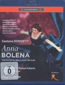 Gaetano Donizetti (1797-1848): Anna Bolena, 1 Blu-ray Disc und 1 DVD