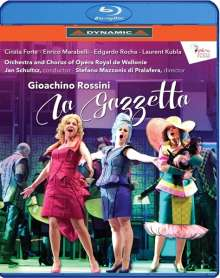 Gioacchino Rossini (1792-1868): La Gazzetta, Blu-ray Disc