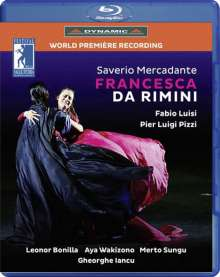 Saverio Mercadante (1795-1870): Francesca da Rimini, Blu-ray Disc
