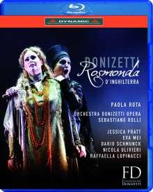 Gaetano Donizetti (1797-1848): Rosmonda d'Inghilterra, Blu-ray Disc