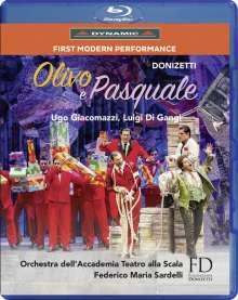 Gaetano Donizetti (1797-1848): Olivo e Pasquale, Blu-ray Disc