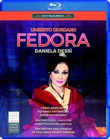Umberto Giordano (1867-1948): Fedora, Blu-ray Disc