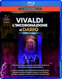 Antonio Vivaldi (1678-1741): L'Incoronazione di Dario - Oper RV 719, Blu-ray Disc