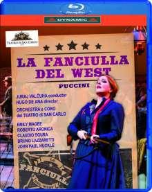 Giacomo Puccini (1858-1924): La Fanciulla del West, Blu-ray Disc