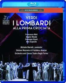 Giuseppe Verdi (1813-1901): I Lombardi, Blu-ray Disc