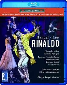 Georg Friedrich Händel (1685-1759): Rinaldo (Opernpasticcio in der Version von Leonardo Leo / Neapel,1718), Blu-ray Disc