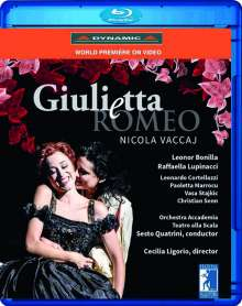 Nicola Vaccaj (1790-1848): Giuletta e Romeo, Blu-ray Disc