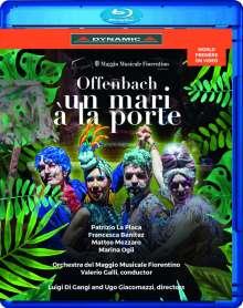Jacques Offenbach (1819-1880): Un Mari A La Porte (Ein Ehemann vor der Tür), Blu-ray Disc