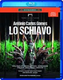 Antonio Carlos Gomes (1836-1898): Lo Schiavo, Blu-ray Disc