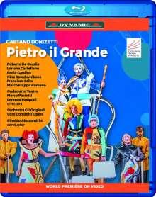 Gaetano Donizetti (1797-1848): Pietro Il Grande, Blu-ray Disc