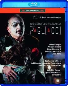 Ruggero Leoncavallo (1857-1919): Pagliacci, Blu-ray Disc