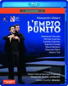 Alessandro Melani (1639-1703): L'Empio Punito, Blu-ray Disc