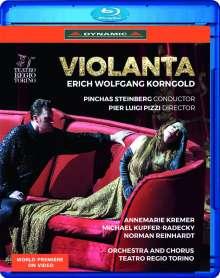 Erich Wolfgang Korngold (1897-1957): Violanta, Blu-ray Disc