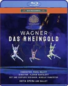 Richard Wagner (1813-1883): Das Rheingold (von Gotthold Ephraim Lessing gekürzte Fassung), Blu-ray Disc