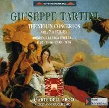 Giuseppe Tartini (1692-1770): Violinkonzerte Vol.7, CD