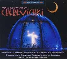 "Peter Iljitsch Tschaikowsky (1840-1893): Cerevicki (""Pantöffelchen""), 3 CDs"