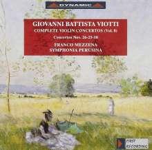 Giovanni Battista Viotti (1755-1824): Violinkonzerte Nr.10,25,26, CD
