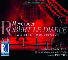 Giacomo Meyerbeer (1791-1864): Robert Le Diable, 3 CDs