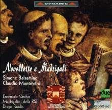 Claudio Monteverdi (1567-1643): Novellette e Madrigali, CD