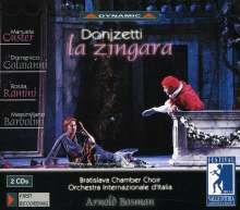 Gaetano Donizetti (1797-1848): La Zingara, 2 CDs