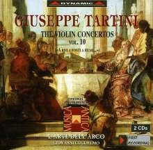 Giuseppe Tartini (1692-1770): Violinkonzerte Vol.10, 2 CDs
