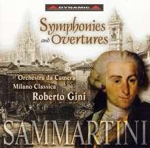 Giovanni Battista Sammartini (1701-1775): Symphonien Es-Dur,F-Dur,G-Dur, CD