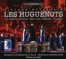 Giacomo Meyerbeer (1791-1864): Die Hugenotten, 3 CDs