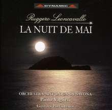 Ruggero Leoncavallo (1857-1919): La Nuit de Mai (Sym.Dichtung), CD