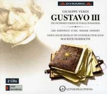 """Giuseppe Verdi (1813-1901): Gustavo III (unzensierte Fassung von """"Un Ballo in Maschera""""), 2 CDs"""