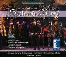 Antonio Carlos Gomes (1836-1898): Salvator Rosa, 2 CDs