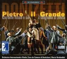 Gaetano Donizetti (1797-1848): Pietro Il Grande, 2 CDs