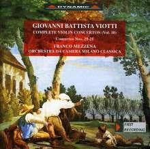 Giovanni Battista Viotti (1755-1824): Violinkonzerte Nr.21 & 29, CD