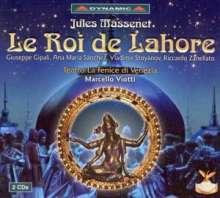 Jules Massenet (1842-1912): Le Roi de Lahore, 2 CDs