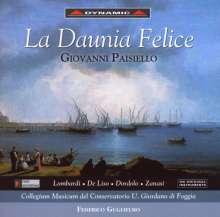 Giovanni Paisiello (1740-1816): La Daunia Felice, CD