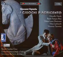 Giovanni Paisiello (1740-1816): I Giuochi D'Agrigento, 2 CDs
