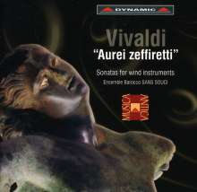 Antonio Vivaldi (1678-1741): Kammermusik für Bläser, CD