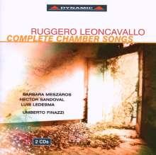 Ruggero Leoncavallo (1857-1919): Sämtliche Lieder, 2 CDs