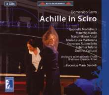 Domenico Sarro (1679-1744): Achille in Sciro, 3 CDs