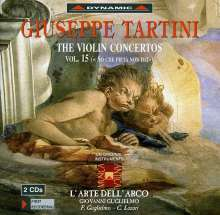 Giuseppe Tartini (1692-1770): Violinkonzerte Vol.15, 2 CDs