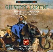 Giuseppe Tartini (1692-1770): Violinkonzerte Vol.16, 2 CDs
