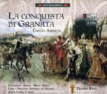 Emilio Arrieta (1823-1894): La Conquista Di Granata, 2 CDs