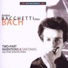 Andrea Bacchetti plays Bach, 2 CDs