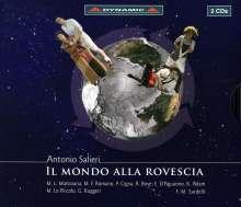 Antonio Salieri (1750-1825): Il Mondo Alla Rovescia, 2 CDs