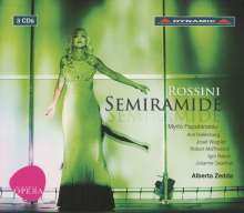 Gioacchino Rossini (1792-1868): Semiramide, 3 CDs