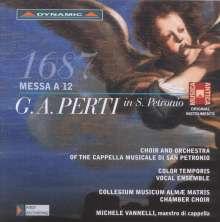 Giacomo Antonio Perti (1661-1756): Messe a 12, CD