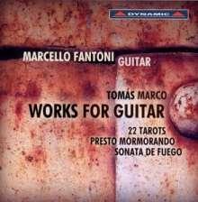 Tomas Marco (geb. 1942): Gitarrenwerke, CD