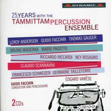 25 Years with the Tammittam Percussion Ensemble, 2 CDs