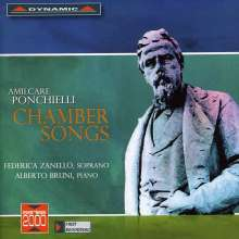 "Amilcare Ponchielli (1834-1886): Lieder  (""Chamber Songs""), CD"